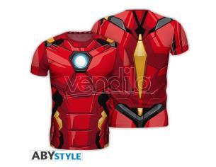 "Marvel - Replica T-shirt ""iron Man"" Uomo Small"