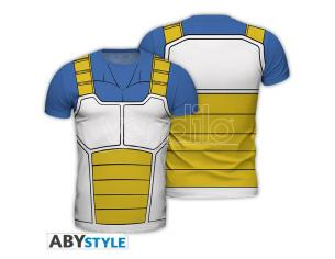 "Dragon Ball - Replica T-shirt ""vegeta"" Uomo Medium"