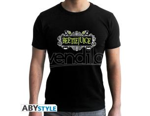 "Beetlejuice - Tshirt ""beetlejuice"" Man Ss Black - New Fit Medium"
