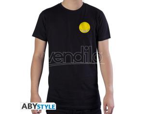 "Assassination Classroom - Tshirt ""koro"" Man Ss Black Used - Basic Medium"