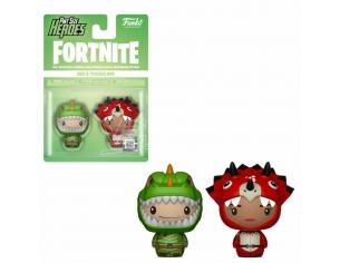 Fortnite - Pop! Pint Sized! Vinile: Rex & Tricera Ops Funko