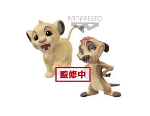 Disney - Collection Figurine Fluffy Puffy Simba & Timon 7cm