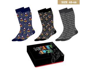 Disney Mickey pack 3 men socks CerdÁ
