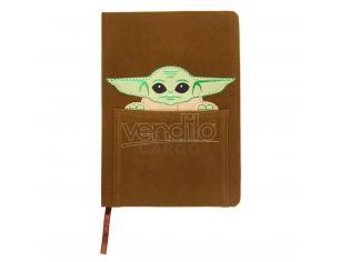 Stars Wars The Mandalorian Yoda Bambino A5 Faux-leather Agenda Cerdà