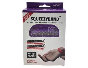 Lilac Adjustable Gel Dispenser Adult Bracelet Squeezyband