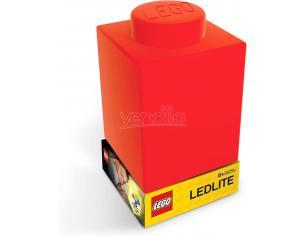 Lego Luce Notturna Classic Silicone Brick Rosso 8 x 8 cm JoyToy