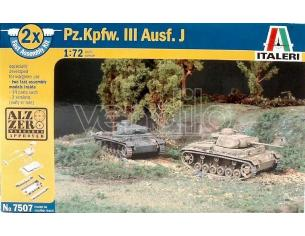Italeri IT7507 CARRO ARMATO PZ KPFW AUSF J KIT 1:72 Modellino