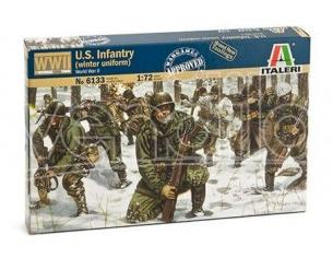 Italeri It6133 U.s.infantry Winter Uniforme Kit 1:72 Modellino