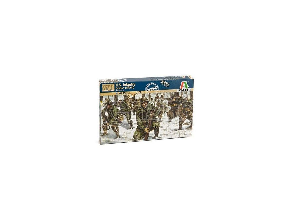 Italeri It6133 U.s.infantry Winter Uniforme Kit 1:72 Modellino