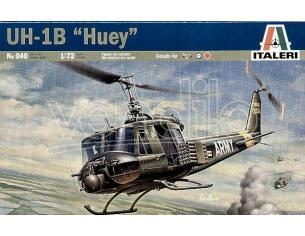 Italeri IT0040 ELICOTTERO BELL UH-1B HUEY KIT 1:72 Modellino