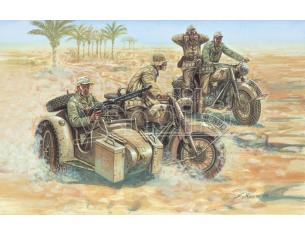 Italeri IT6121 GERMAN MOTORBIKES WW II KIT 1:72 Modellino