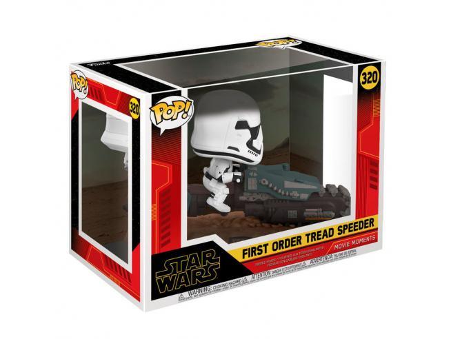 Pop Figura Star Wars Rise Of Skywalker Tread Speeder Funko