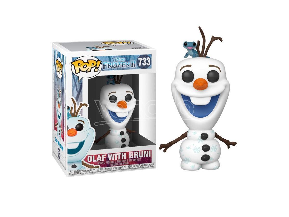 POP figure Disney Frozen 2 Olaf with Bruni Funko