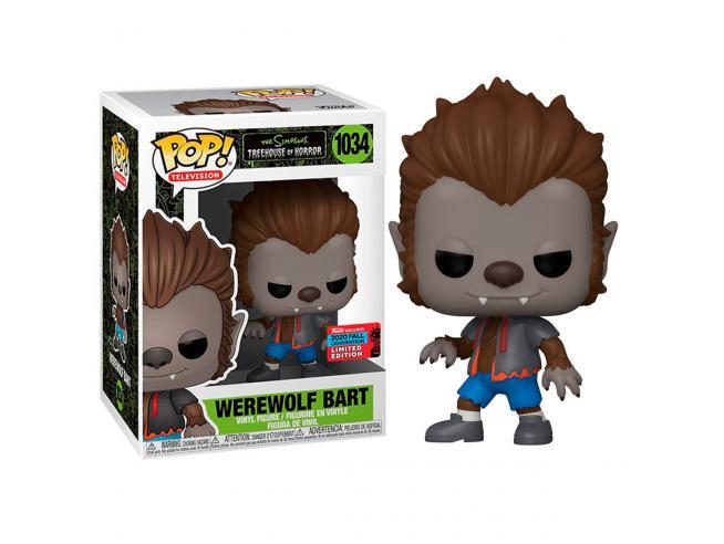 POP figure The Simpsons Werewolf Bart Exclusive Funko