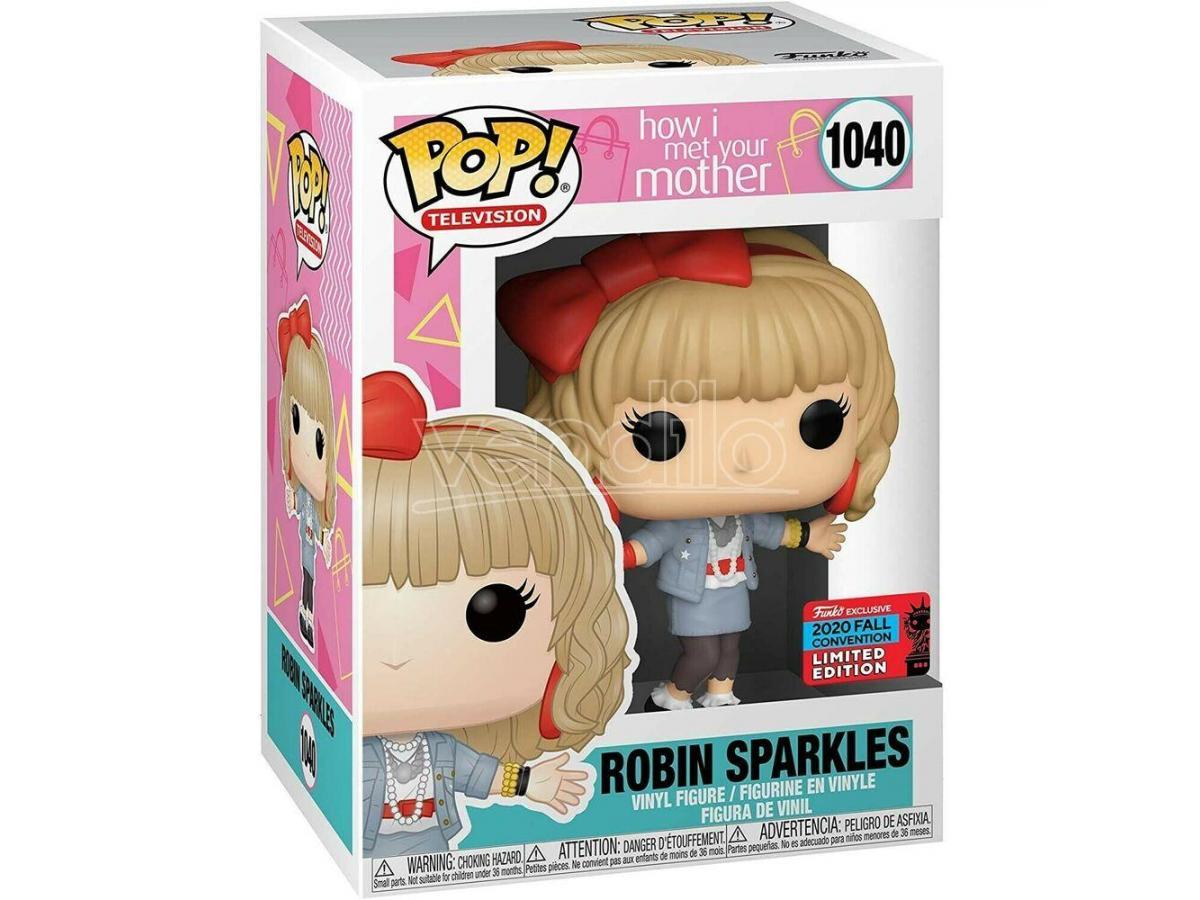 POP figure How I Met Your Mother Robin Sparkles Exclusive Funko