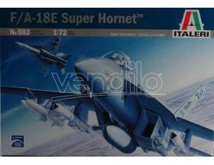 Italeri IT0083 F/A 18 E SUPER HORNET KIT 1:72 Modellino