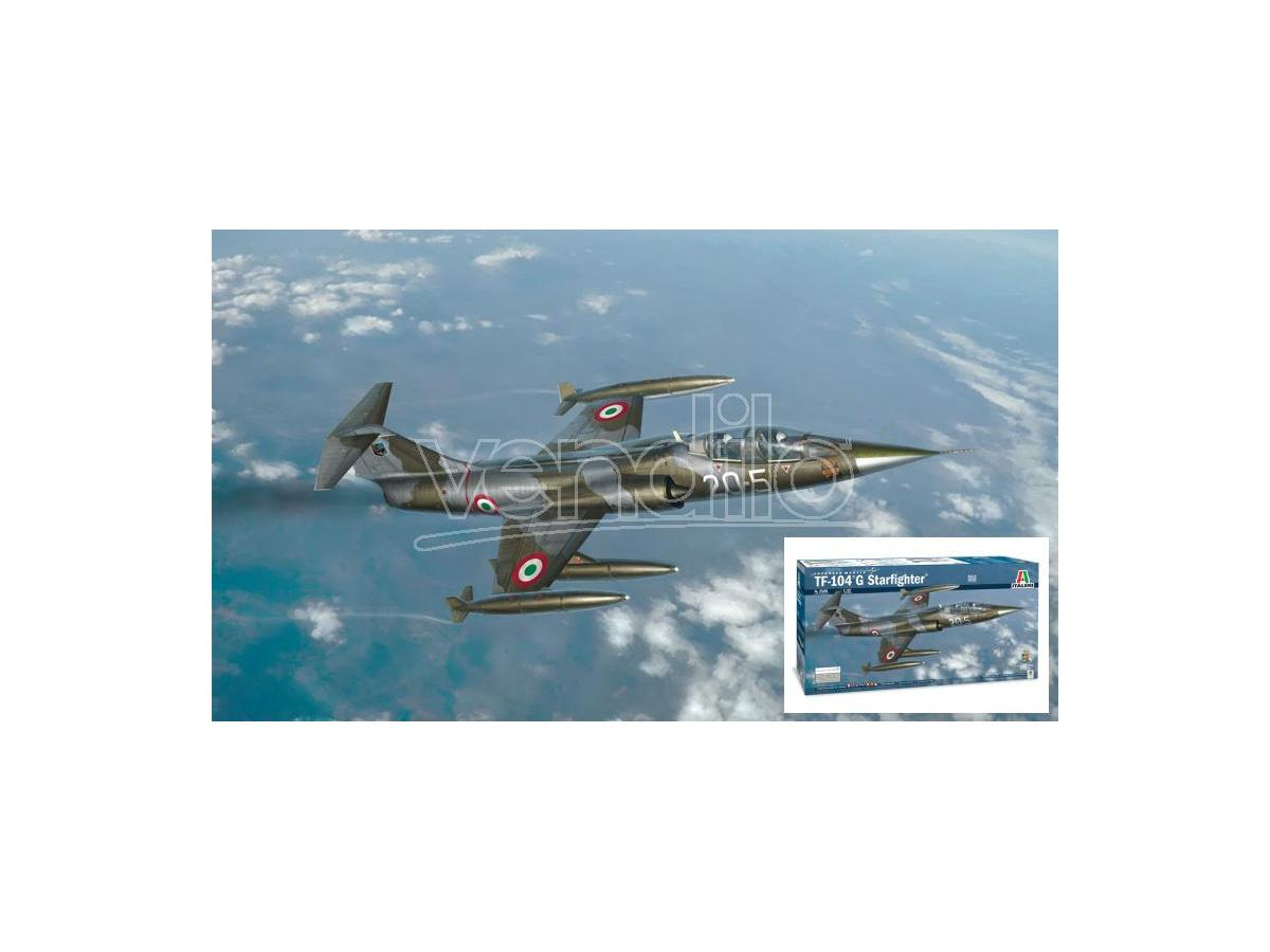 Italeri IT2509 TF-104G STARFIGHTER KIT 1:32 Modellino