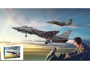Italeri IT1422 US NAVY FIGHTER WEAPONS SCHOOL TOP GUN F-14A vs A4M KIT 1:72 Modellino