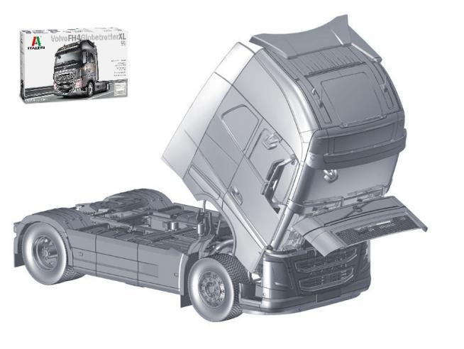 Italeri IT3940 VOLVO FH16 GLOBETROTTER XL 2014 KIT 1:24 Modellino