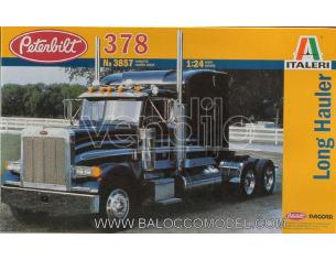 Italeri IT3857 PETERBILT 378 LONG HAULER KIT 1:24 Modellino