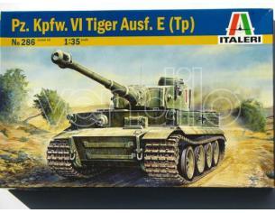 Italeri IT0286 TIGER I E/H1 KIT 1:35 Modellino