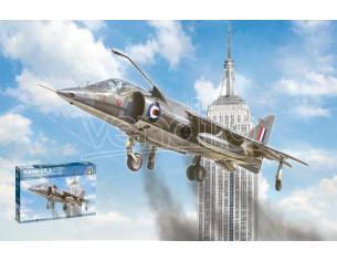 Italeri IT1435 HAWKER HARRIER GR.I KIT 1:72 Modellino