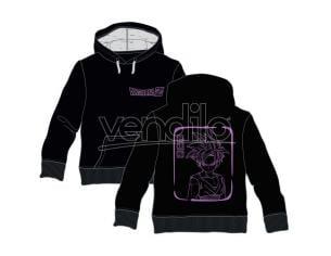 Dragon Ball Z Son Gohan adult hooded sweatshirt Toei Animation