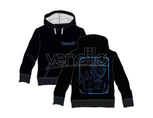 Dragon Ball Z Vegeta adult hooded sweatshirt Toei Animation