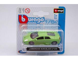 BBURAGO BU59005G LAMBORGHINI MURCIELAGO LP 640 GREEN 1:64 Modellino