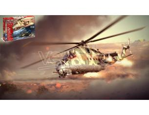 ITALERI IT35103 WAR THUNDER MIL MI-24 D -UH 1C (2 IN 1) KIT 1:72 Modellino
