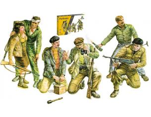 ITALERI IT6556 PARTISANS KIT 1:35 Modellino