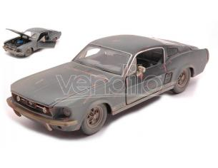 MAISTO MI32142 FORD MUSTANG OLD FRIENDS 1967 DIRTY VERSION BLACK 1:24 Modellino