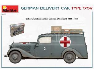 MINIART MIN35297 GERMAN DELIVERY CAR TYP 170V KIT 1:35 Modellino