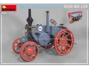 MINIART MIN38024 GERMAN AGRICULTURAL TRACTOR D8500 MOD.1938 KIT 1:35 Modellino