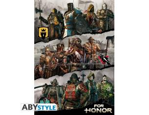 "For Honor - Poster ""factions"" (91.5x61) *"
