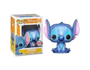 POP figure Disney Stitch Seated Diamond Glitter Exclusive Funko