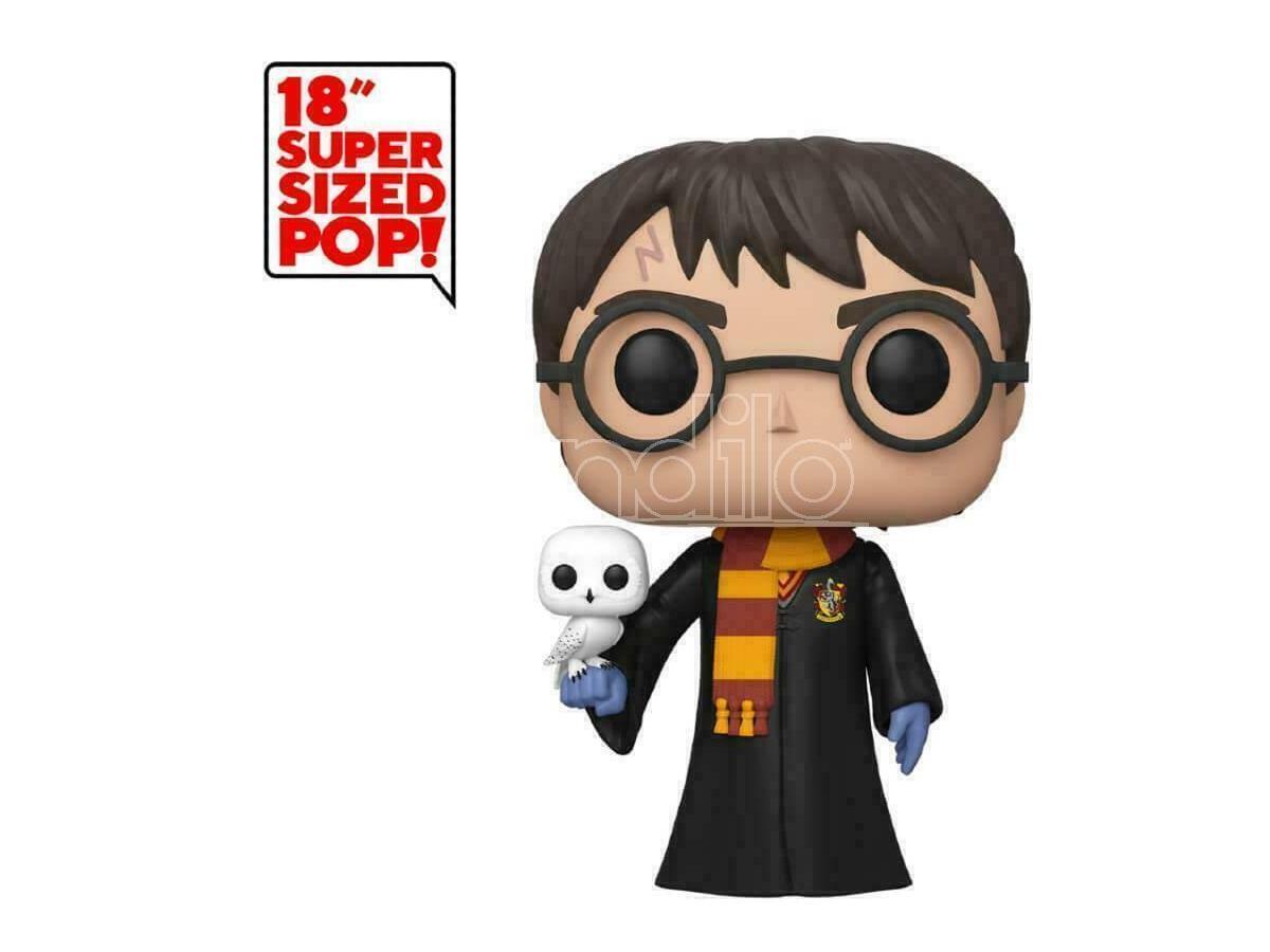 Harry Potter Funko POP Vinile Figura Harry Potter con Edvige 45cm