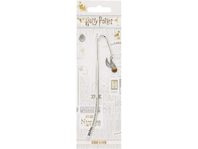 Harry Potter Segnalibro con Ciondolo Boccino d'Oro 1,5 cm The Carat Shop