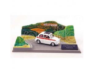 500 010 FIAT NUOVA 500 AMERICA HOLLYWOOD 1/43 Modellino