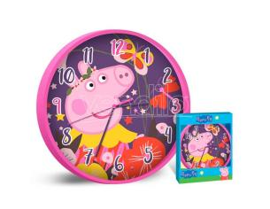 Peppa Pig wall clock Kids Licensing