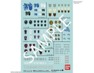 GUNDAM DECAL 104 GUNDAM IRON BL ORPH 2 ACCESSORI BANDAI MODEL KIT