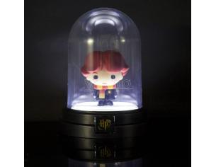 Harry Potter Campana di Vetro con Figura Ron 13 cm Paladone