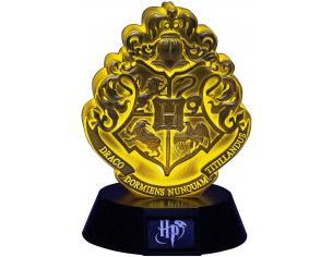 Harry Potter Mini Lampada con Stemma Hogwarts Oro 11 cm Paladone