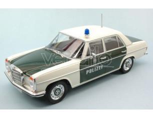 Mac Due MCG18054 MERCEDES 220/8 (W115) 1968 POLICE 1:18 Modellino