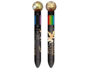 Harry Potter Penna Multicolor 8 Colori con Boccino d'Oro Blue Sky Studios