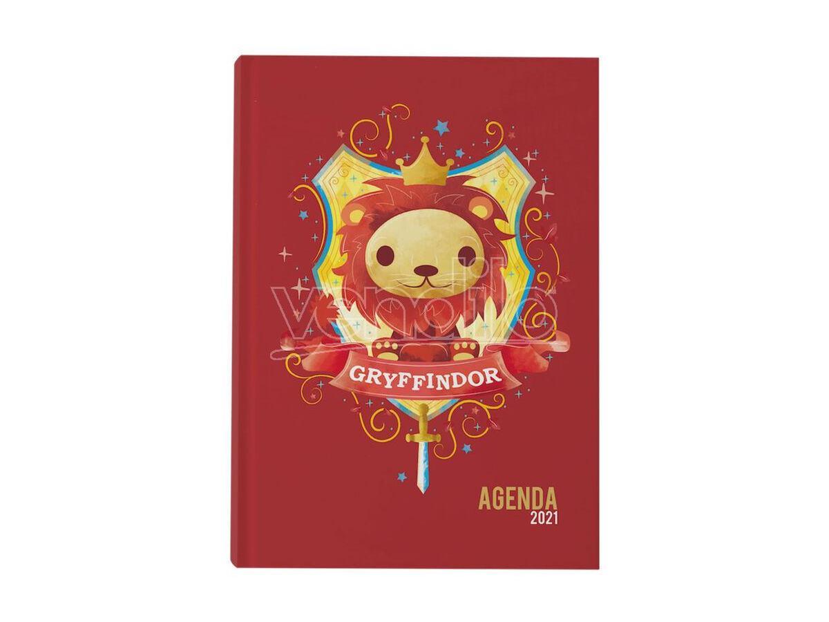 Harry Potter Agenda Diario Grifondoro 2021 Sd Toys