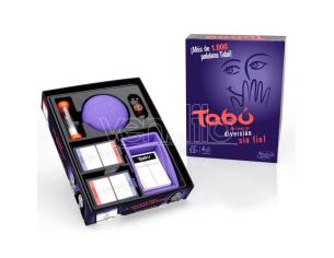 Tabu Spanish game Hasbro