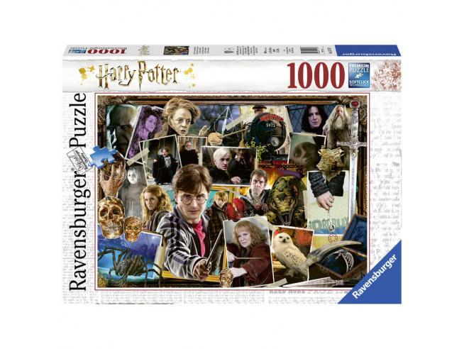 Harry Potter Puzzle Harry Potter vs Voldemort 1000pcs Ravensburger