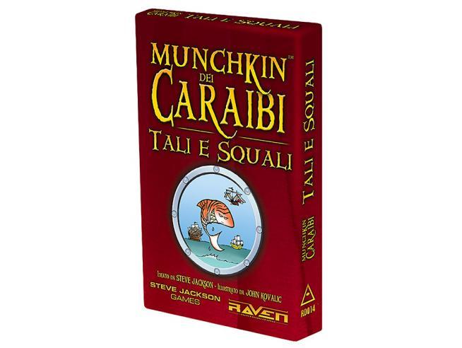 MUNCHKIN DEI CARAIBI - TALI E SQUALI GIOCHI DA TAVOLO TAVOLO/SOCIETA'