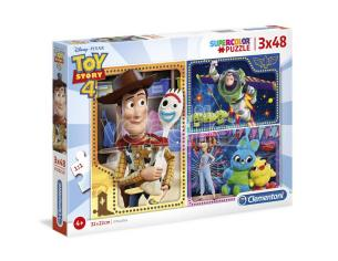 Disney Toy Story 4 Maxi puzzle 3x48pcs Clementoni
